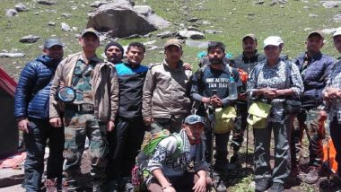 Himachal Pradesh: Indian Air Force Rescues Missing Trekkers; One Dead, Other Critically Injured